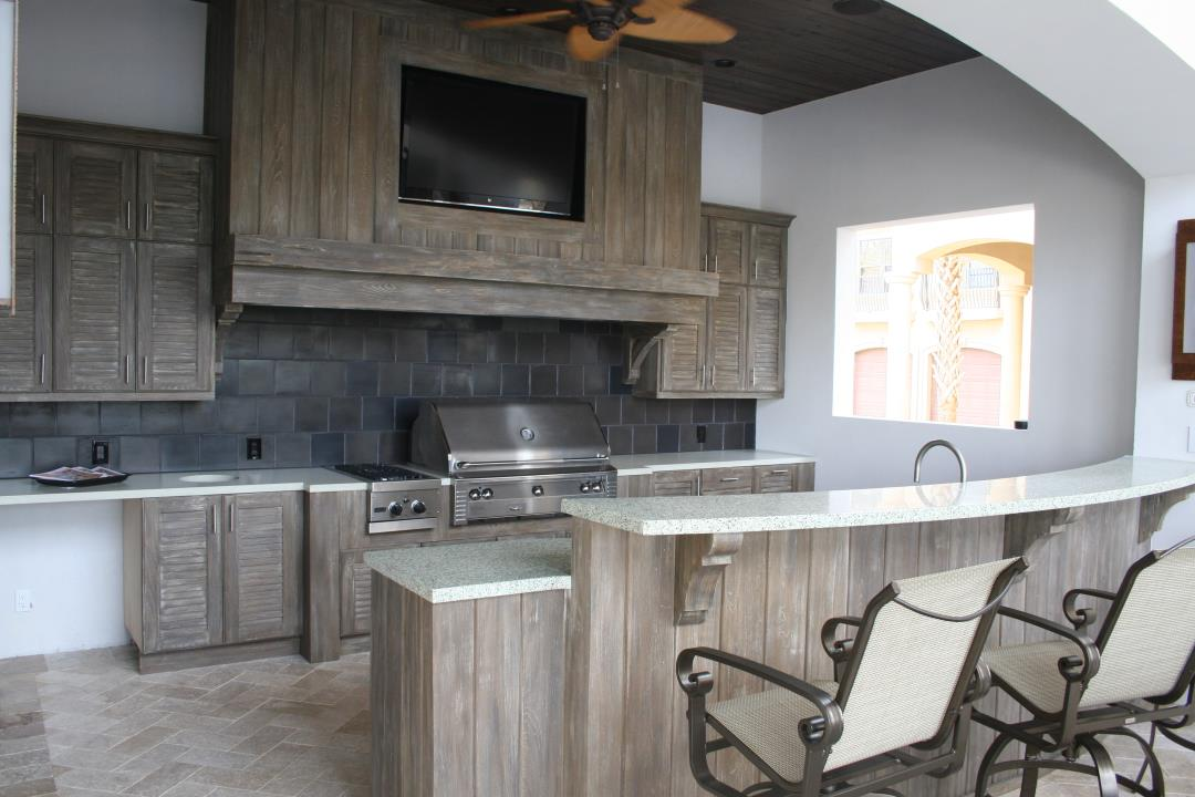 Naturekast Outdoor Summer Kitchen Cabinet Gallery: A&S Home Offers Custom Kitchen, Bath & Outdoor Cabinetry