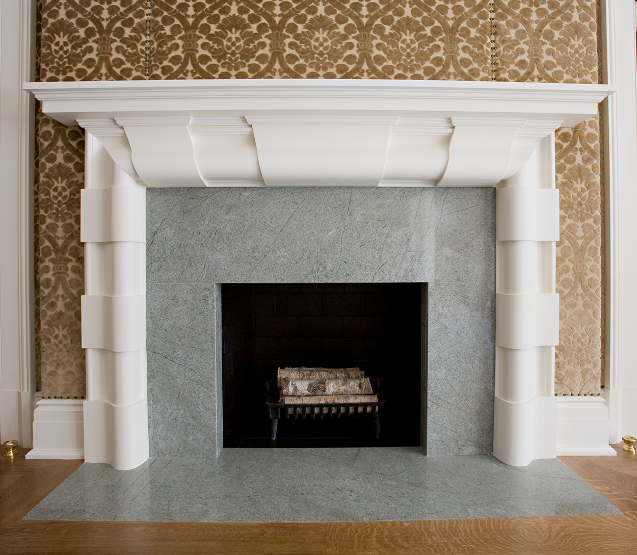 Costa Esmeralda Fireplace Surround