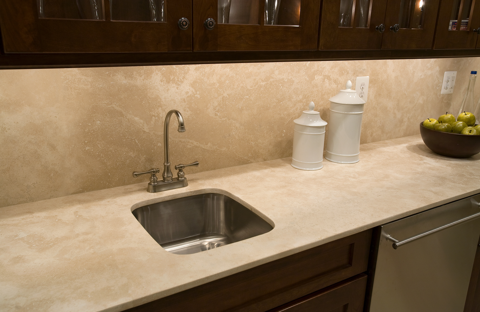 Durango Limestone Wet Bar