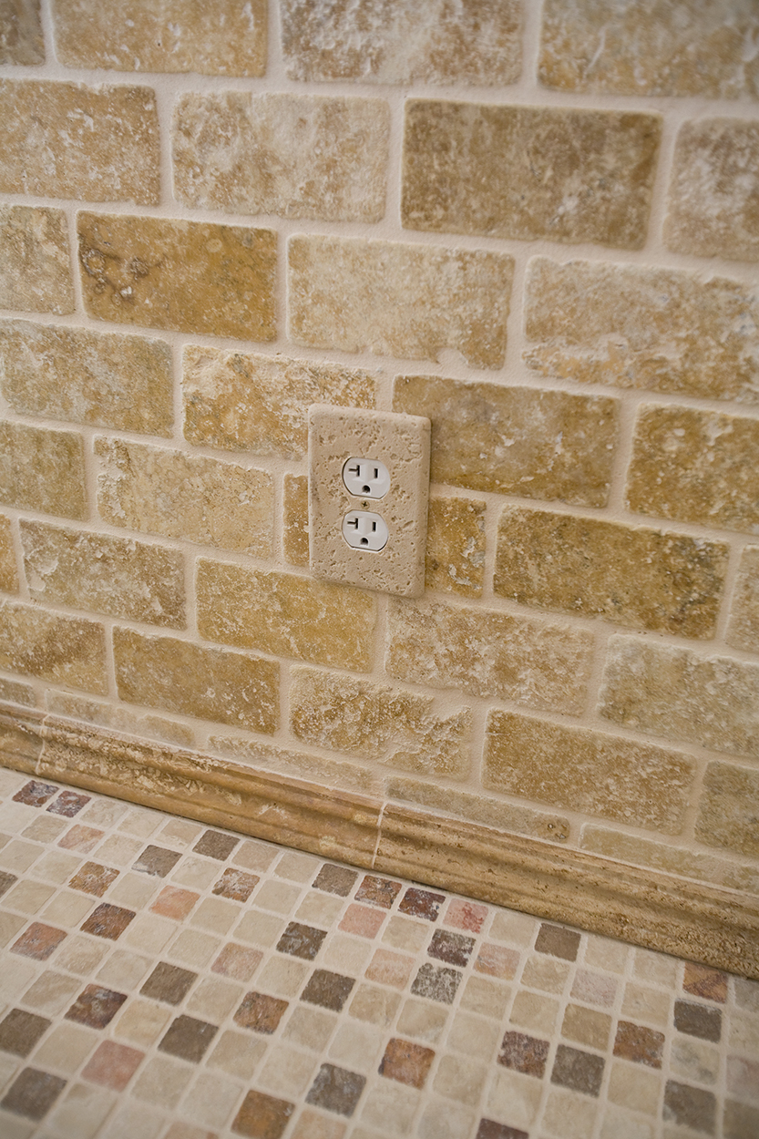 Stone Electrical Outlet Cover