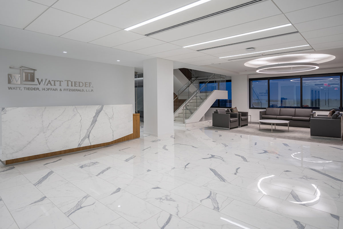 Watt Tieder - A&S Corporate Office Work