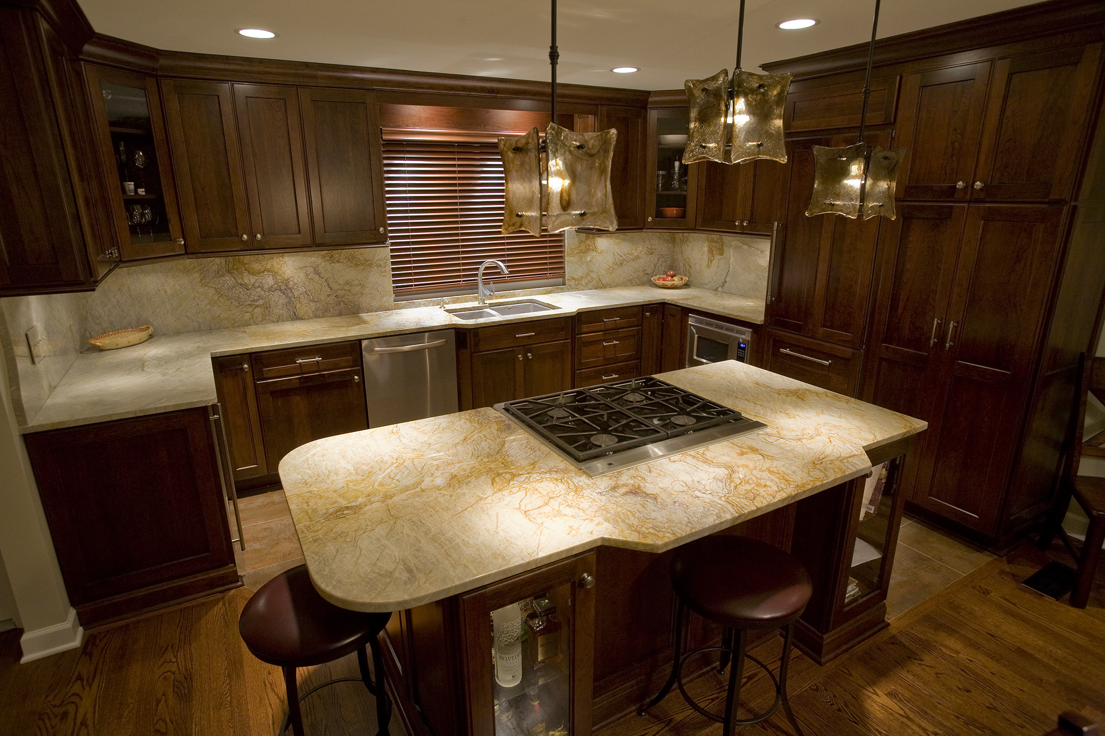 Quartzite Kitchen Granite Countertops
