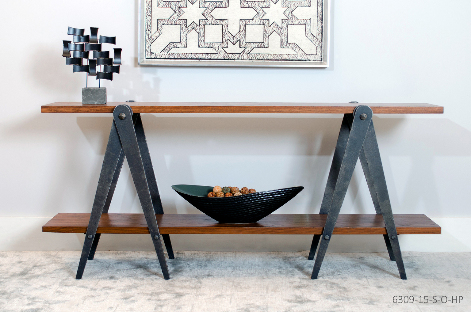 Fine Wood With Metal Furniture - A&S Home Interiors