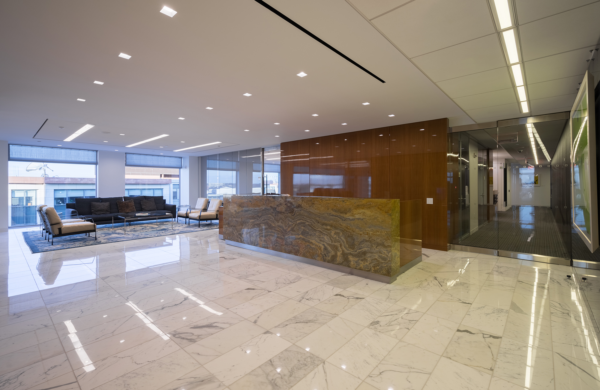 Ropes And Gray - Marble Floor A&S Corporate Office Work