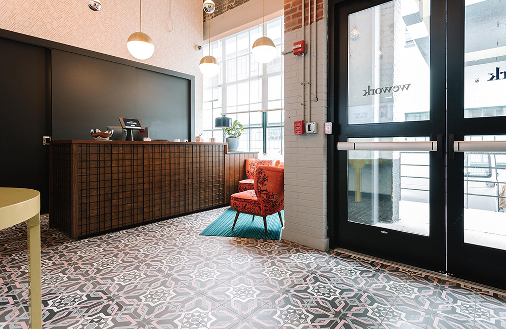 Wework Manhattan Laundry - A&S Corporate Office Work