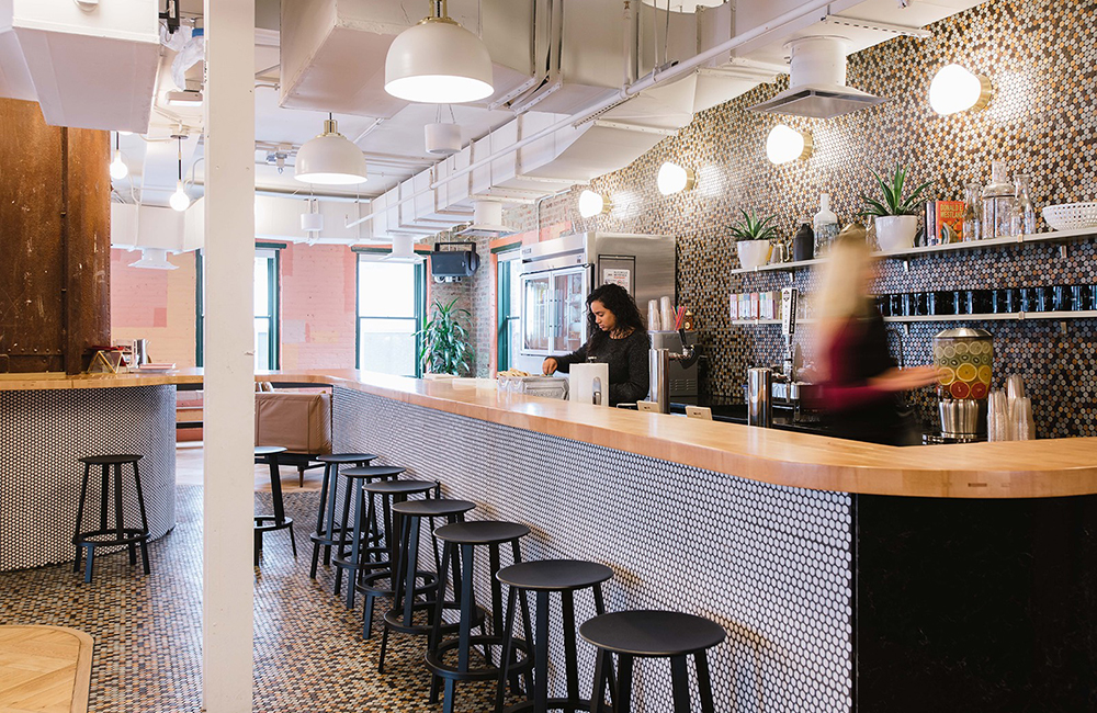 Wework Manhattan Laundry Pantry - A&S Corporate Office Work
