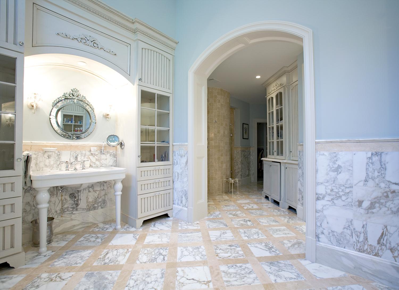 Calacatta Durango Marble Floor