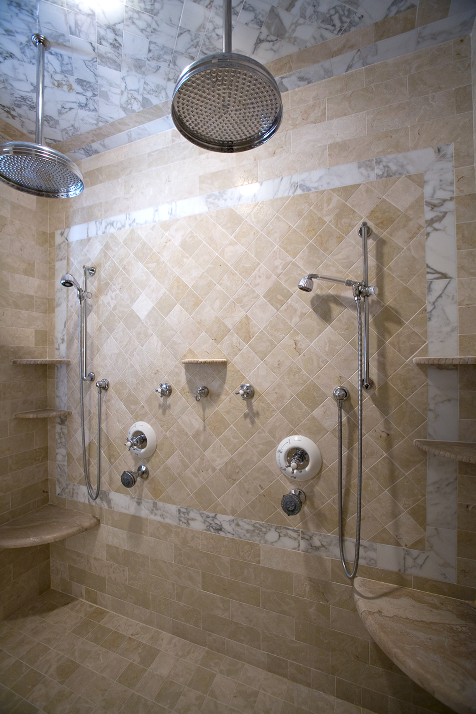 Calacatta Marble Durango Shower