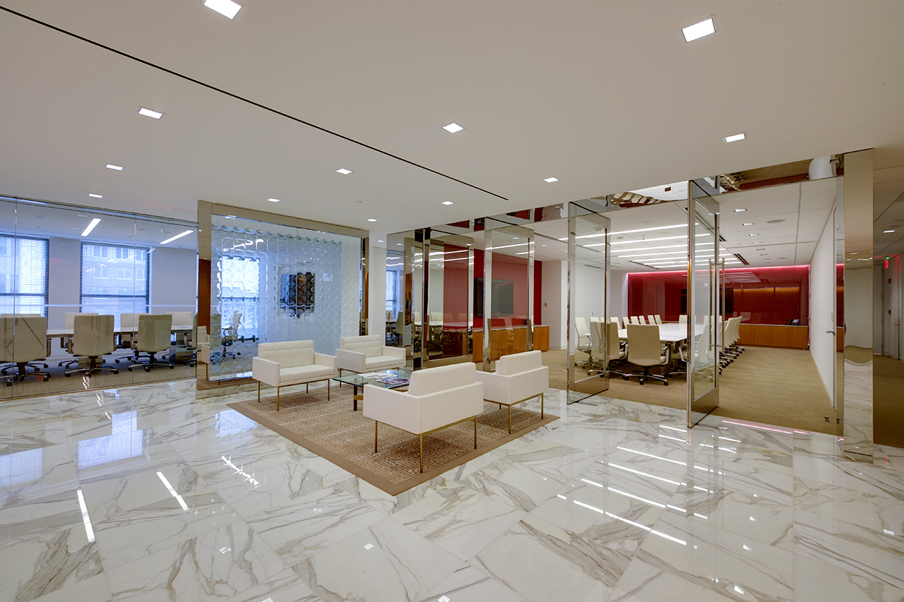 Tiles And Furinture Work - A&S Corporate Office Work