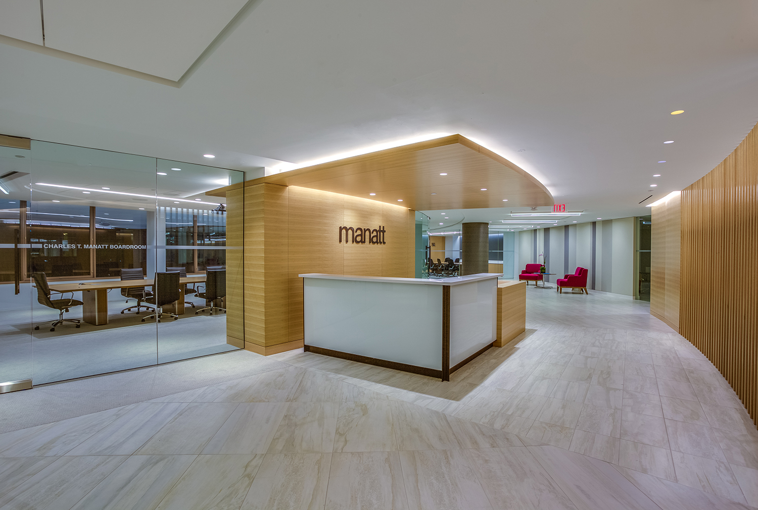Mantt - A&S Corporate Office Work
