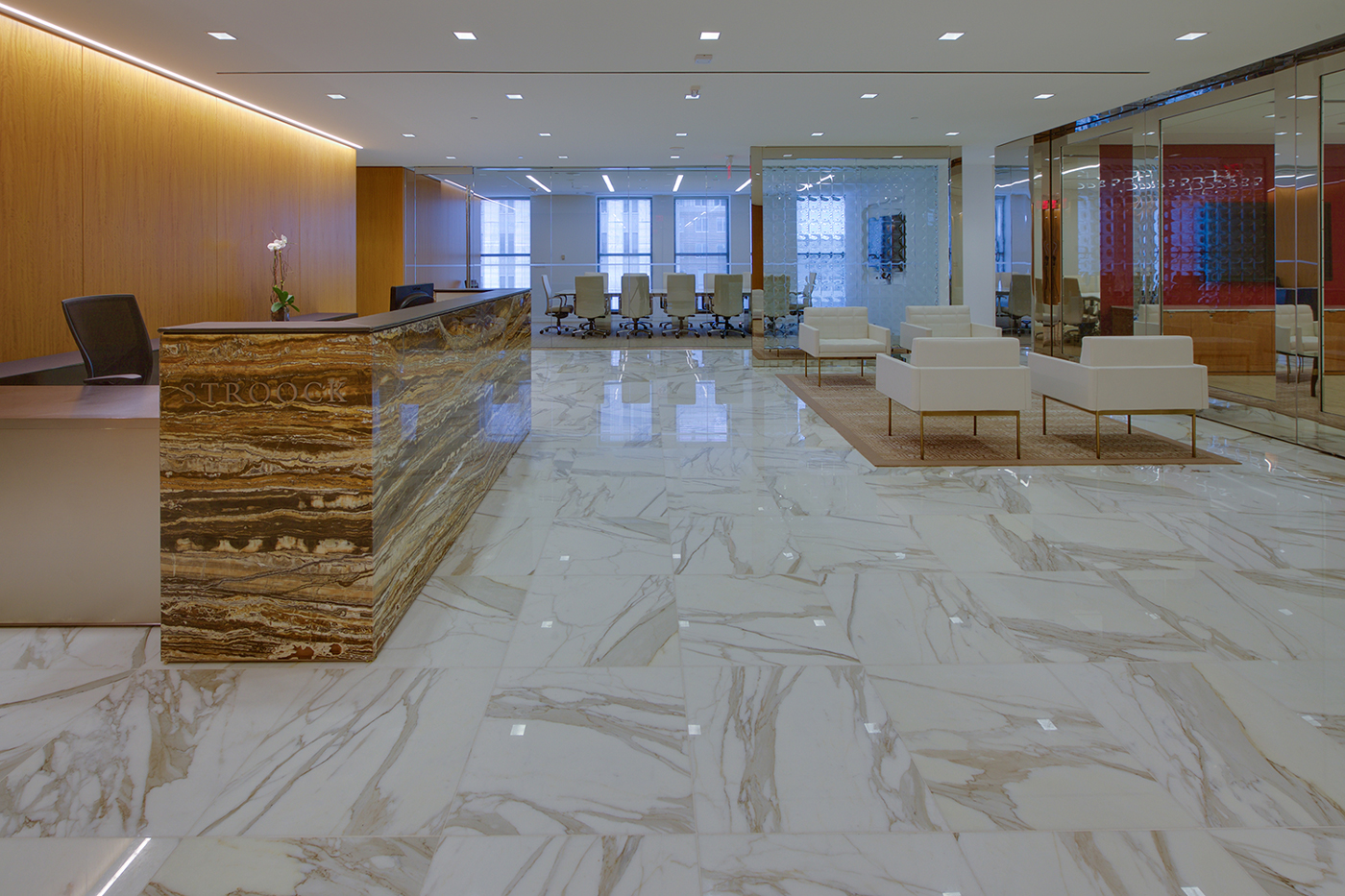 Stroock - Marble Floor A&S Corporate Office Work