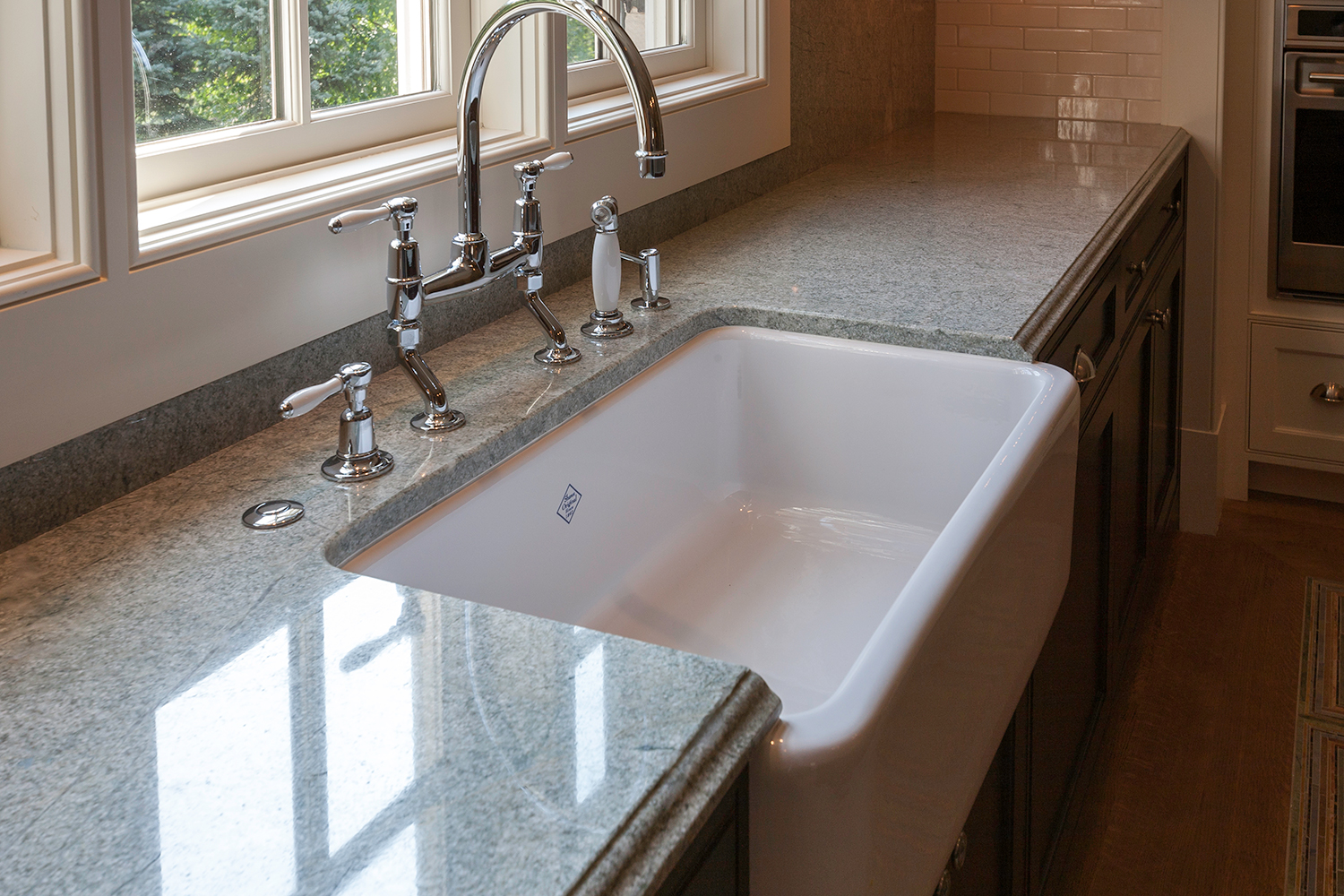 Costa Esmeralda Granite Kitchen Farm Sink