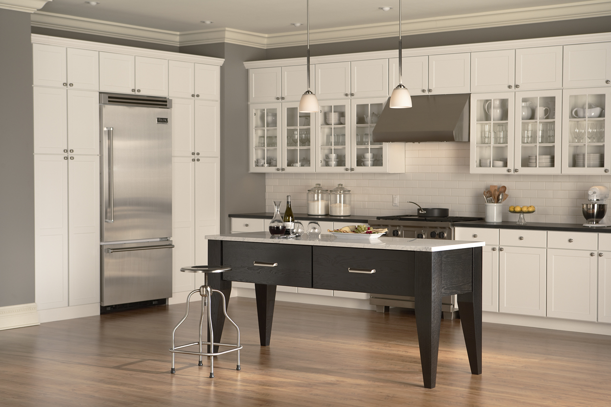 Wolf Cabinetry Carbonoak Island - Wolf Design