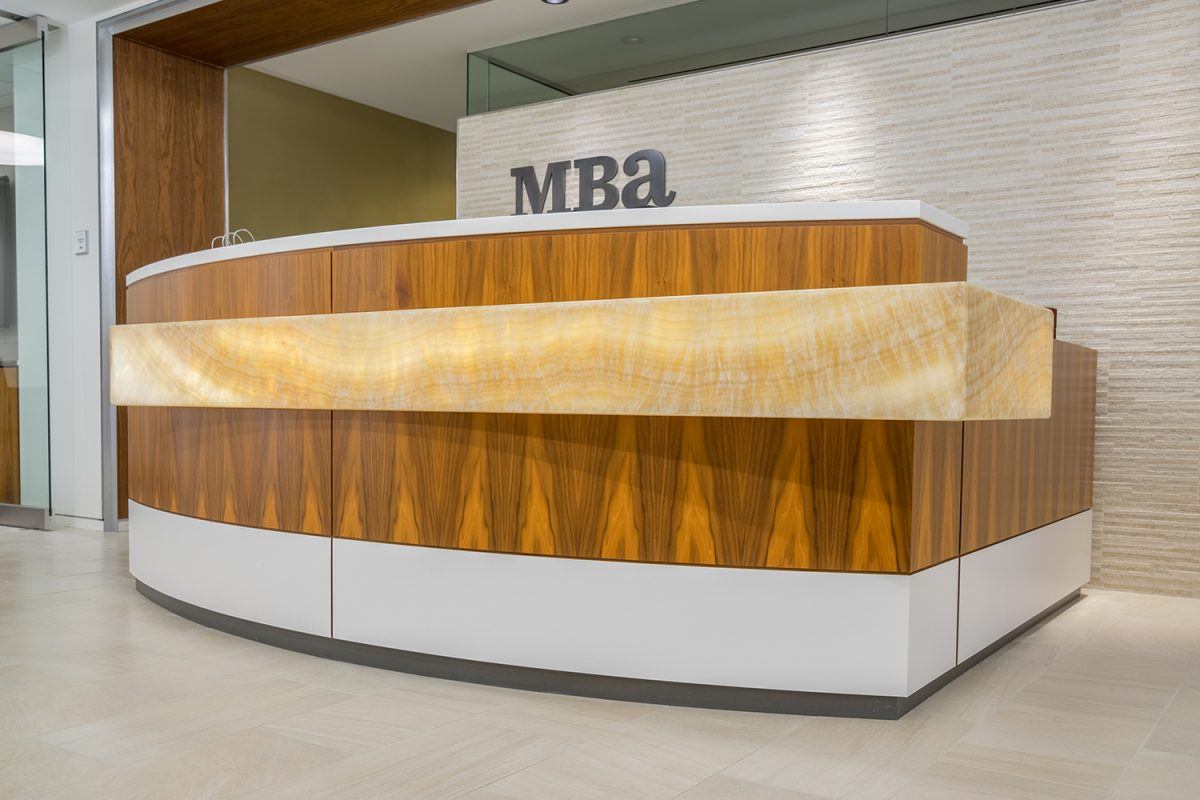 Commercial Mba Desk - A&S Interior & Amenity
