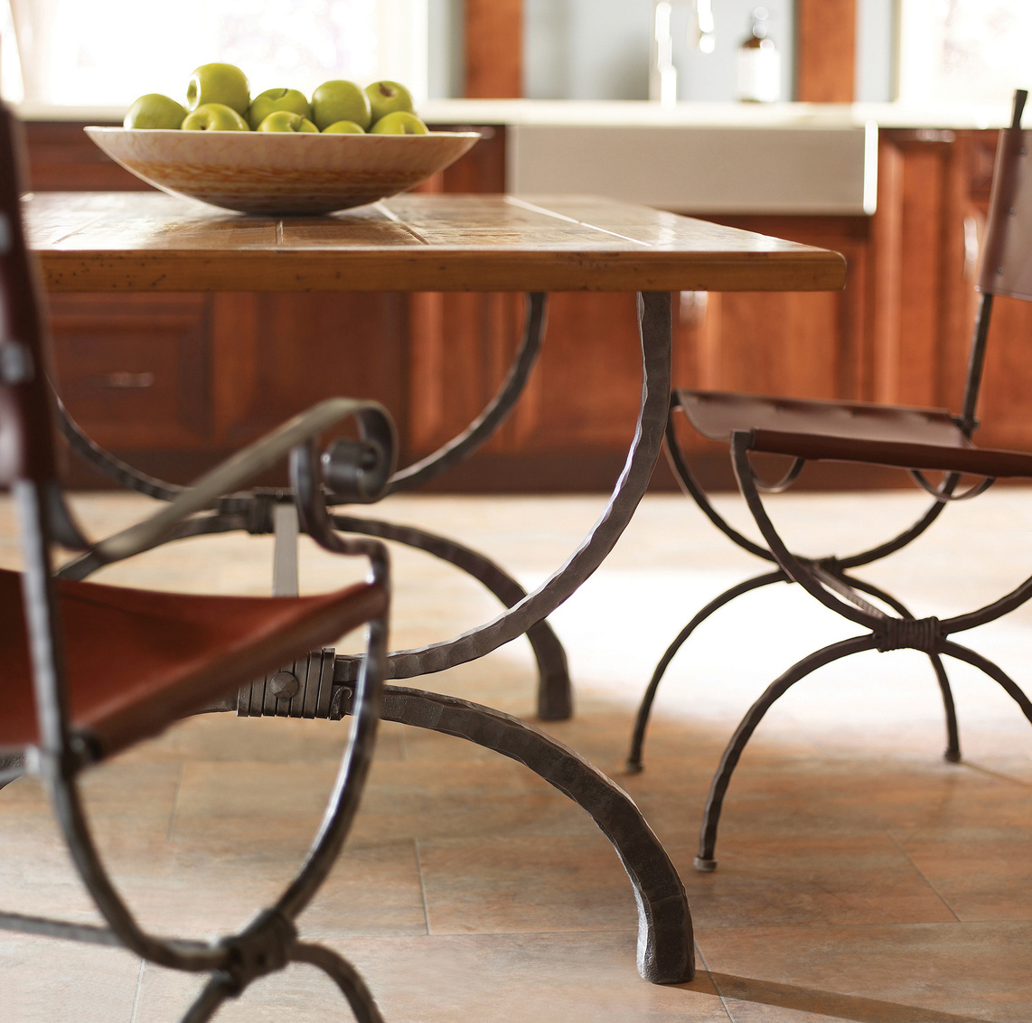 Fine Wood With Metal Furniture