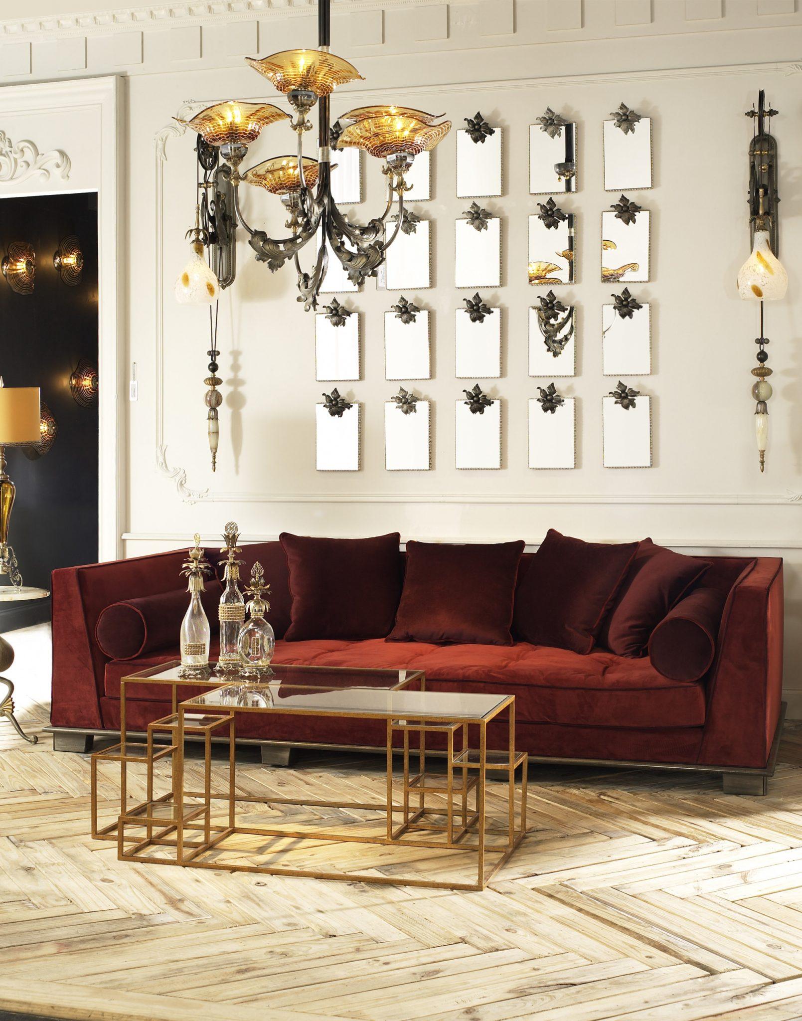 Luna Bella Tulum Amber And Barcelona Red - Furniture