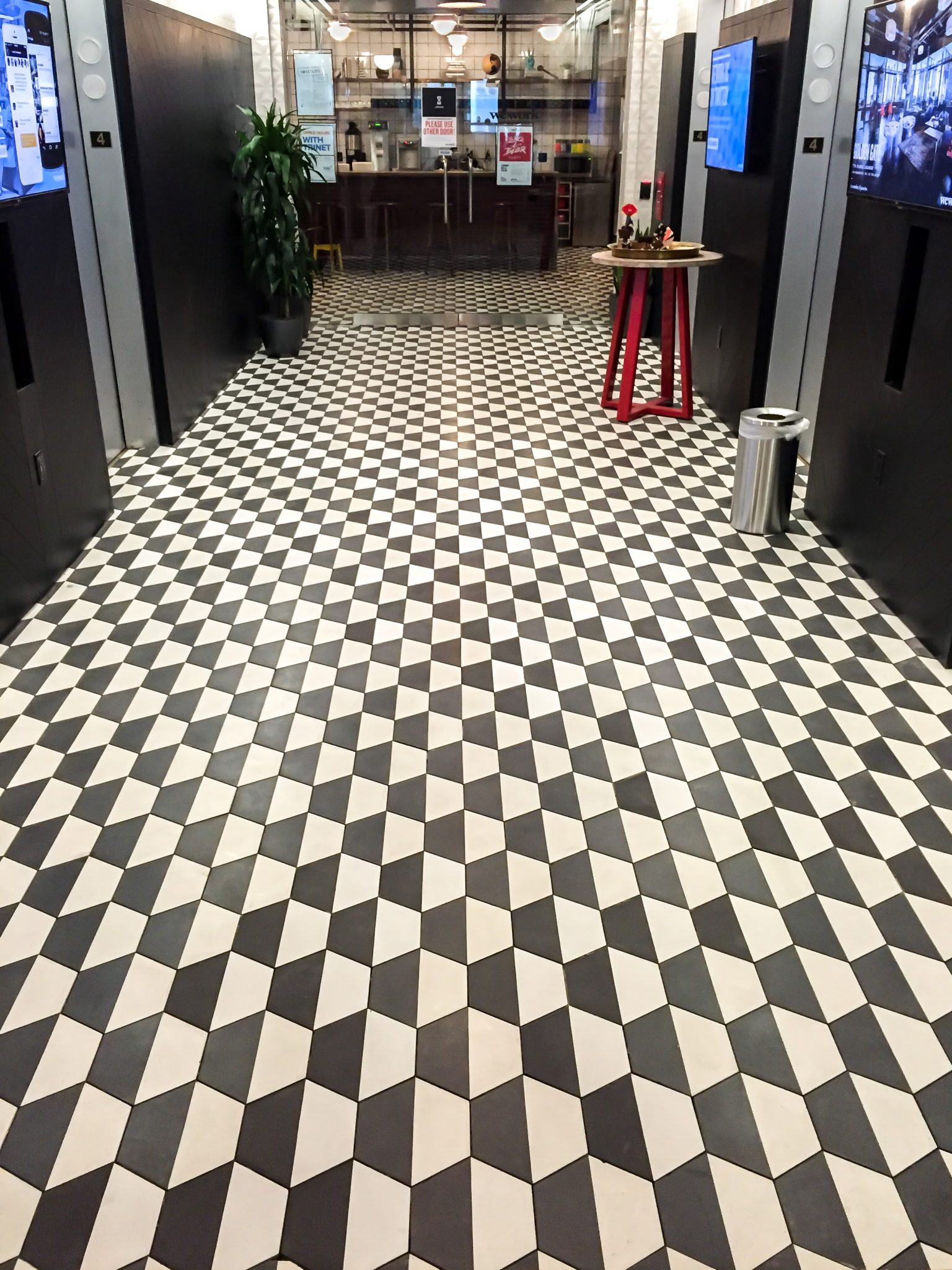 concrete floor tile