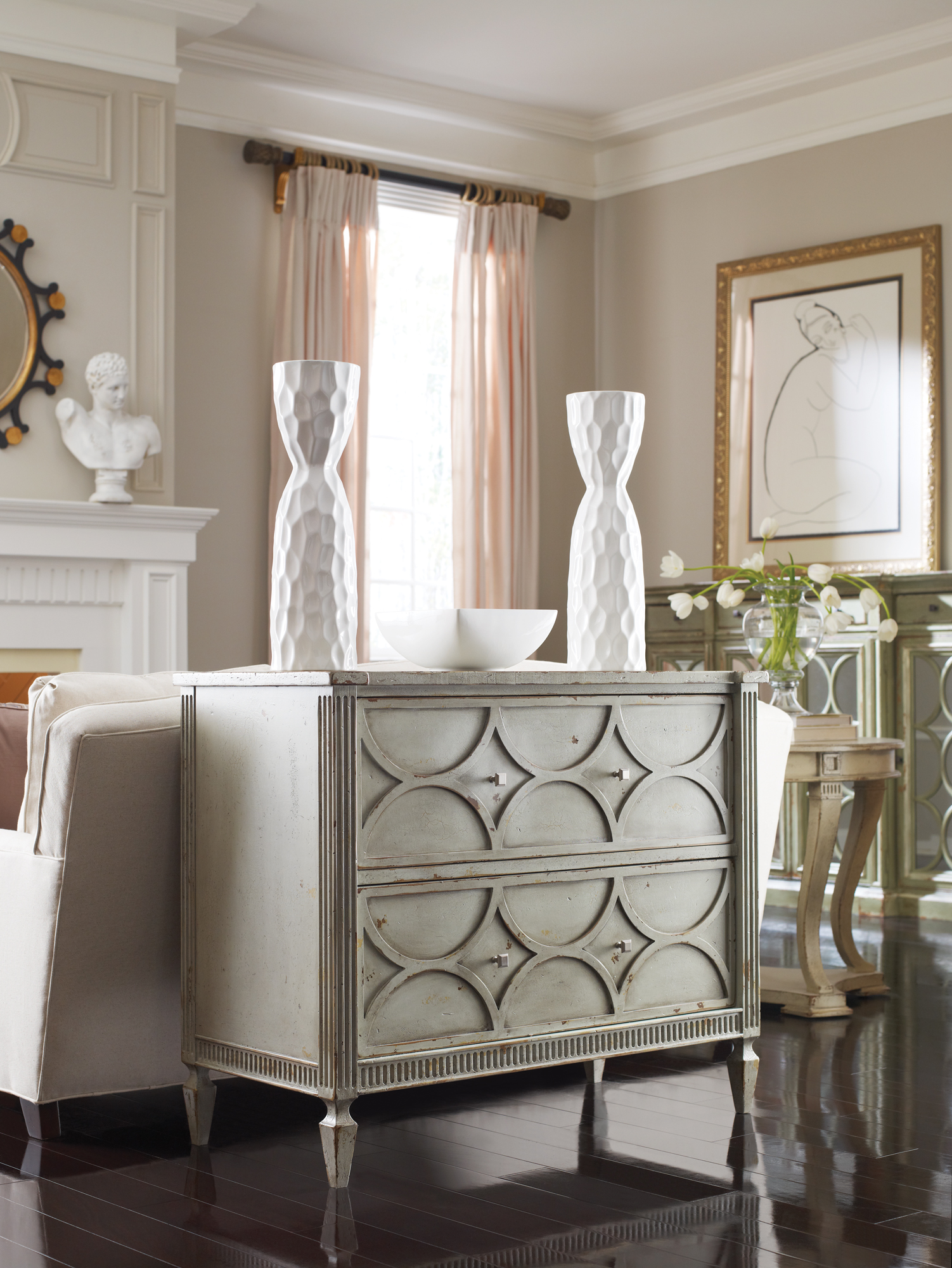 Habersham Two Drawer Chest Cabinetry