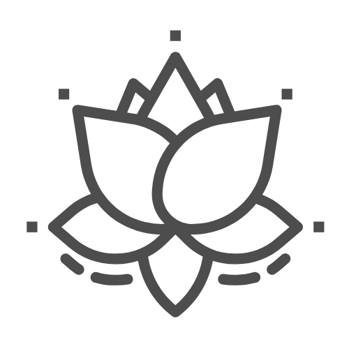 icon of a flower