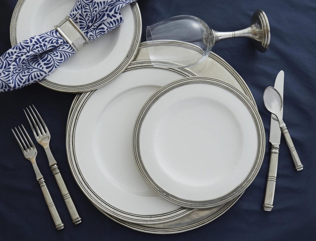 Fancy dinnerware
