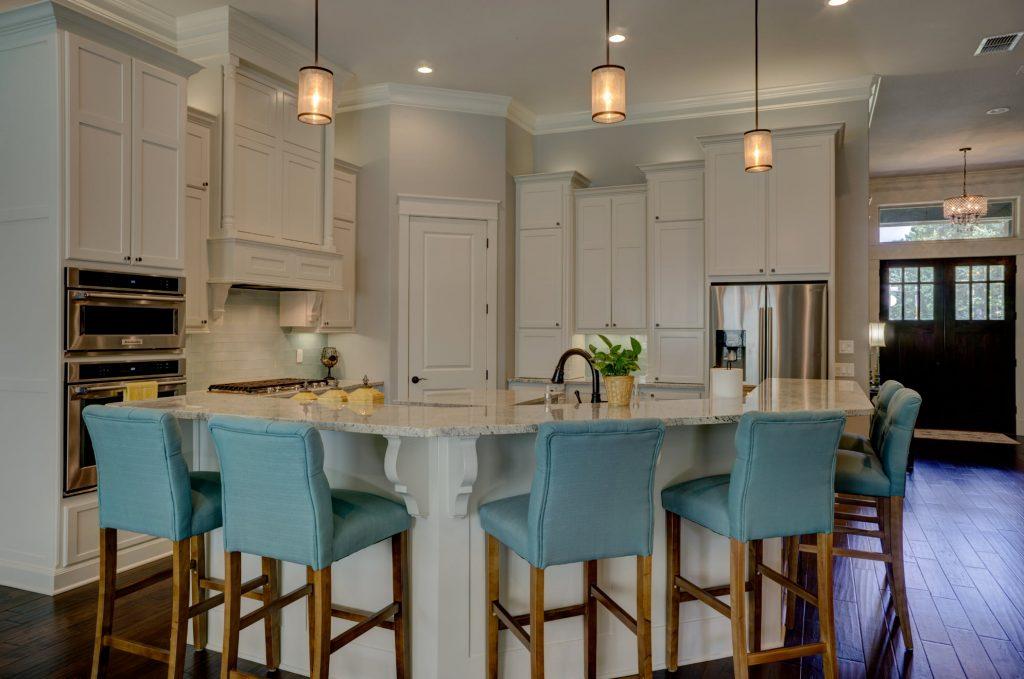 asymmetric kitchen cabinets