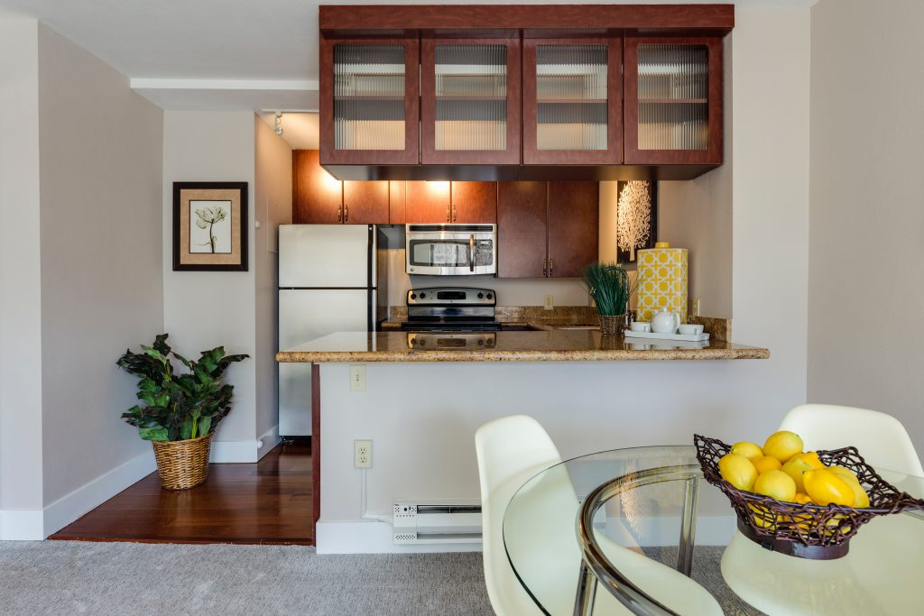 countertop space cabinets