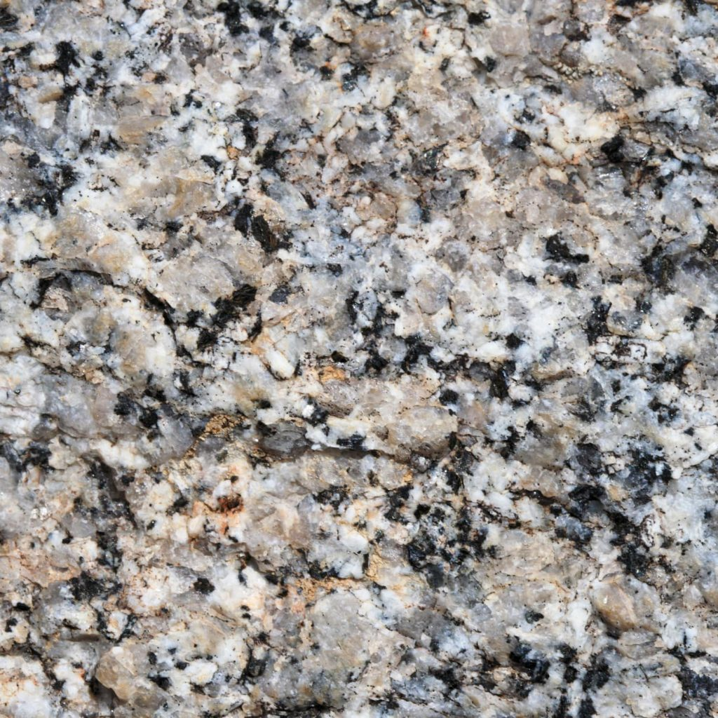 A natural stone countertop made out of granite